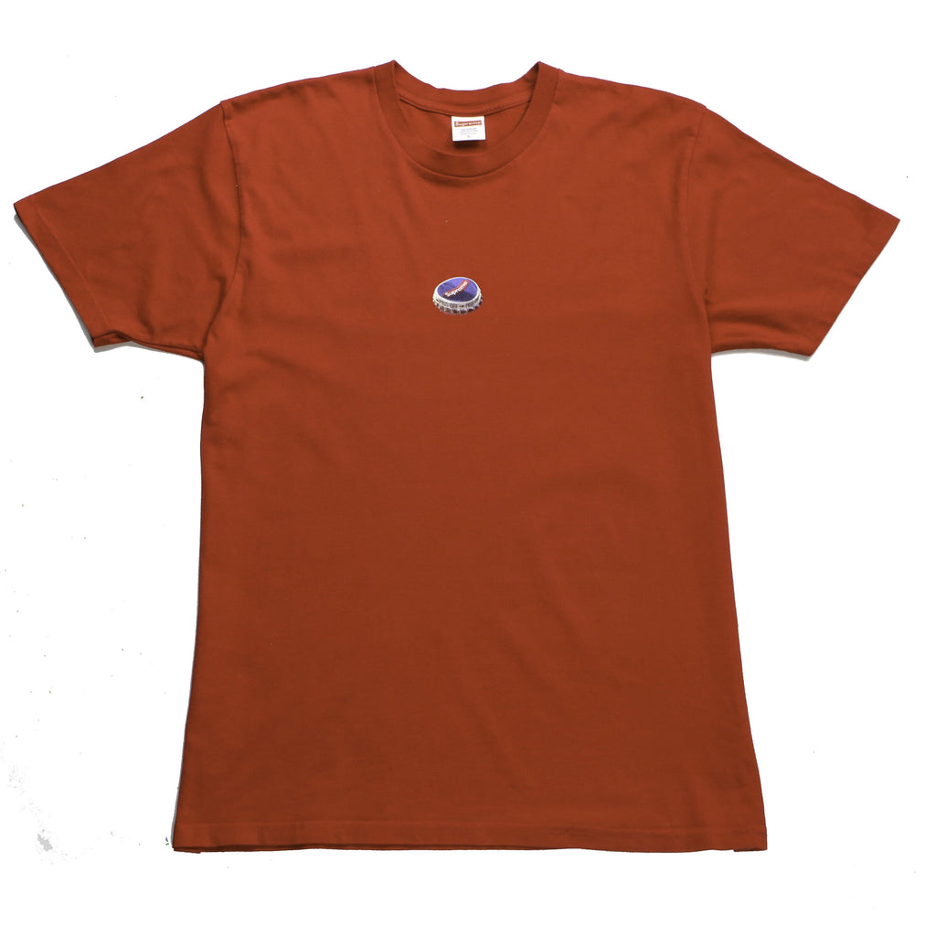 SUPREME BOTTLE CAP TEE (L) - Thrifty Towel