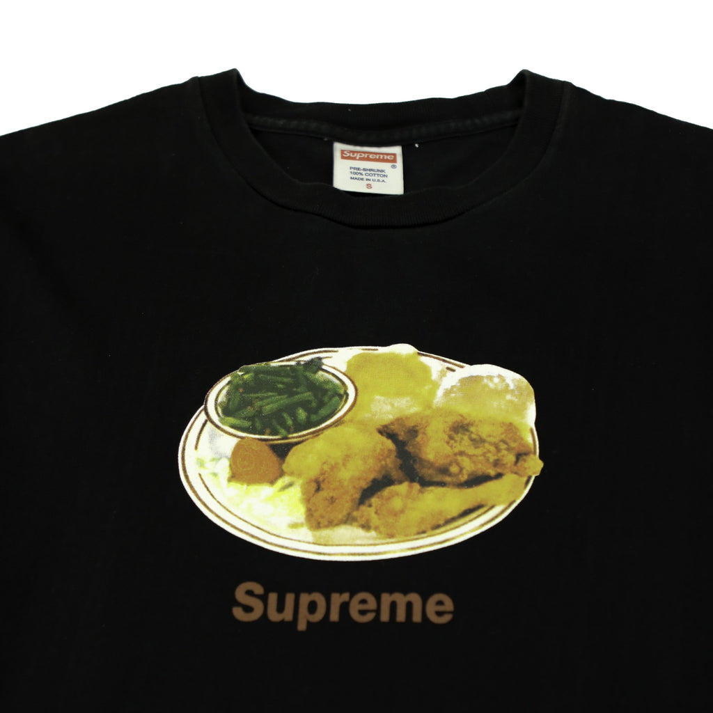 SUPREME CHICKEN DINNER TEE (S) - Thrifty Towel