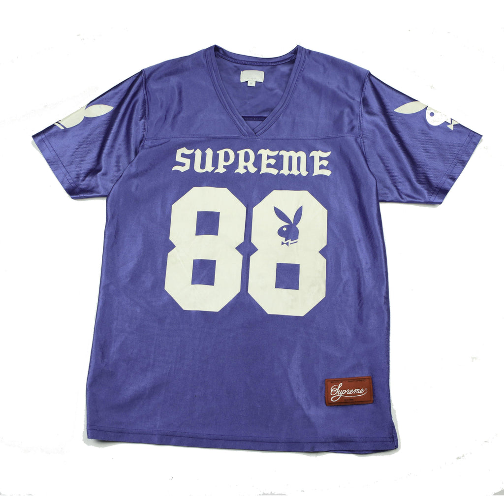 SUPREME PLAYBOY FOOTBALL JERSEY (M) - Thrifty Towel