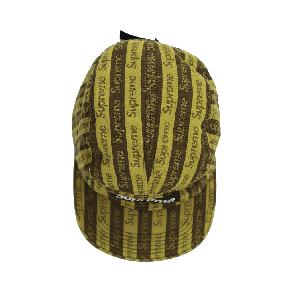 SUPREME JACQUARD LOGO CAMP CAP FW14 - Thrifty Towel