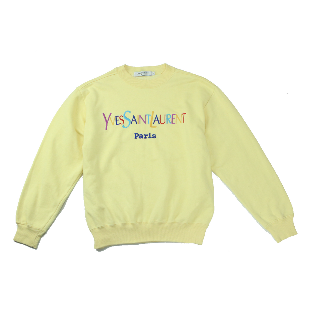 YSL RAINBOW LOGO SWEAT