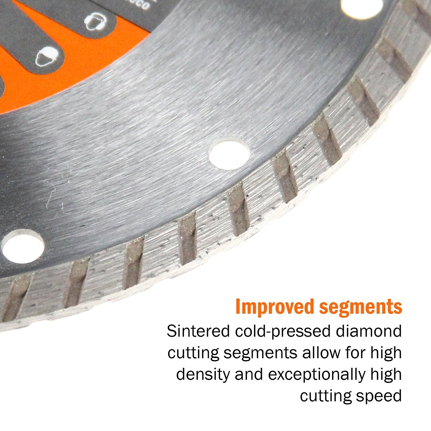 "Sintered Diamond Discs Cuts 4.5"" M10/M14"