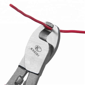 Heavy Duty 8 inch Carbon Steel Mini Cable Cutter For Wire & Cable Cutting