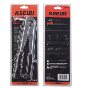 KSEIBI Rivet Gun Chrome Finishing Hand Riveter For Auto Repair