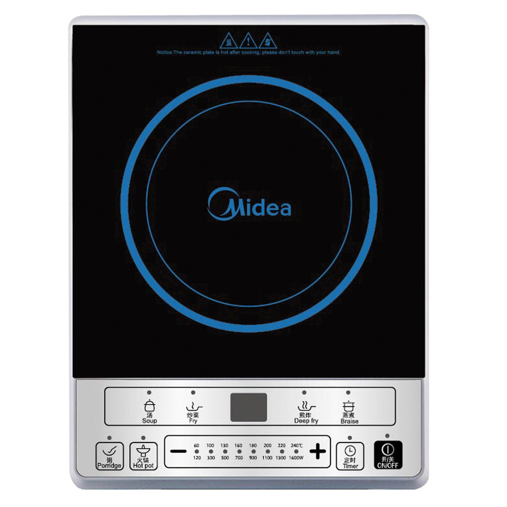 MIDEA 1600W Soft Touch Control Induction Cooker
