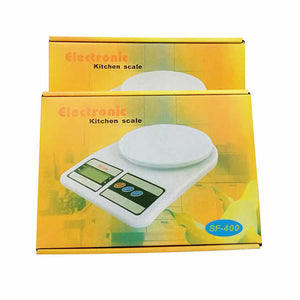 Digital LCD Kitchen Electronic Scales(FREE 4PCS AA BATTERY)