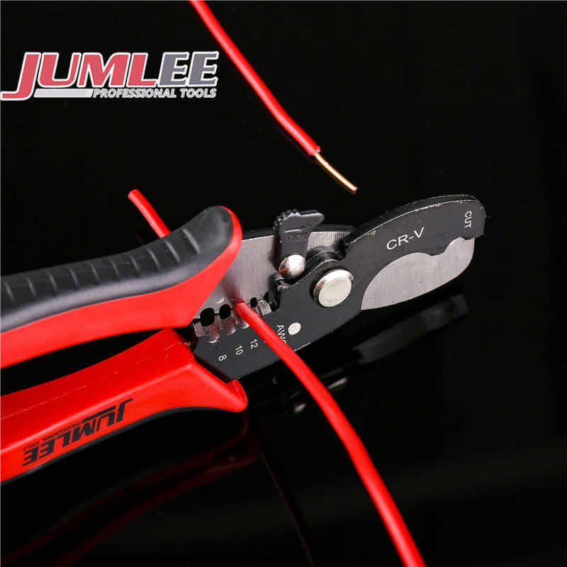 High Quality Multifunctional Cable Wire Stripper Cutter Plier Durable Stripping Cutting Tool 8""