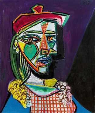 Picasso Painting of a Lover in a Beret