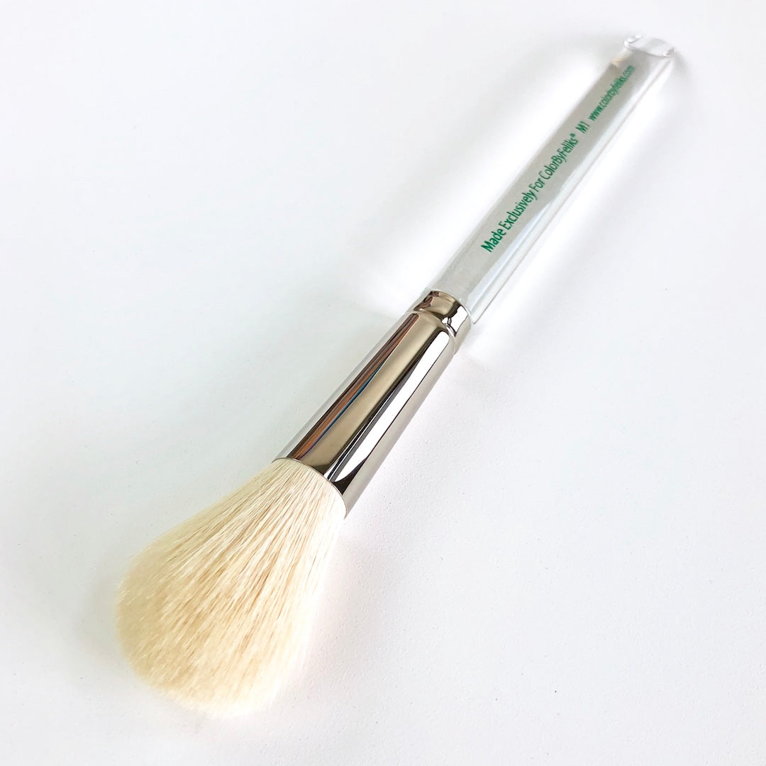 ColorByFeliks M1 Goat Hair Blending Brush (CLEAR)