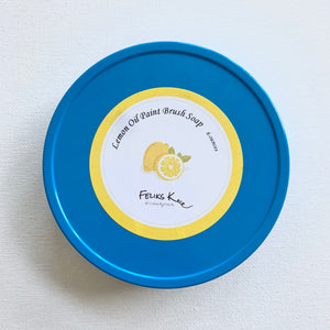 All Natural Feliks K. Handmade Brush Soaps (Lemon Oil)