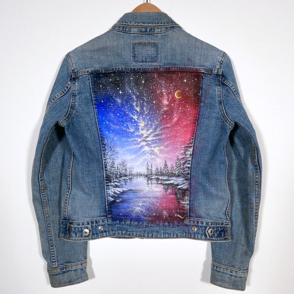Original Levi's Painted Jean Jacket-Women's Size Medium
