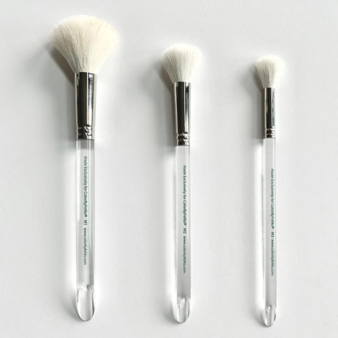 ColorByFeliks 3-piece Goat Hair Blending Brush Set M1, M2, M3