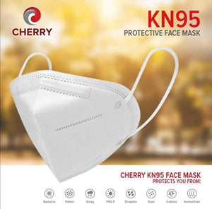 Cherry 5-PLY KN95 Protective Face Mask - 5 PCS