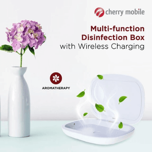 Cherry 3 in 1 UV Sterilizer , Wireless Charger and Aromatherapy Box