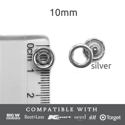 10 mm buttons Snap & Extend™ - Bellelis Australia