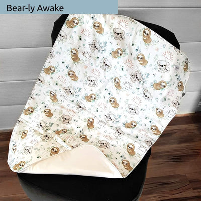 Large unique nappy change mat