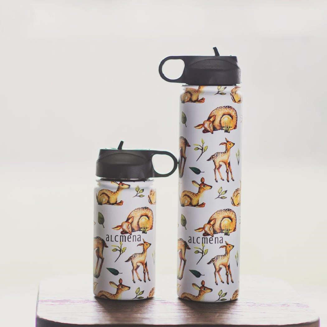 Deerlightful - Insulated Drink Bottle - Bellelis Australia