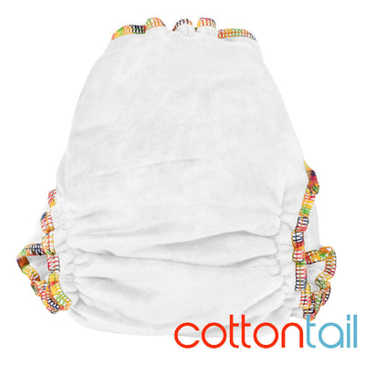 Bamboo Delight - Fitted nappy - Bubblebubs