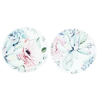 Reusable, Absorbent, Leak-proof Nursing Pads Set - Floral MIX - Bellelis Australia