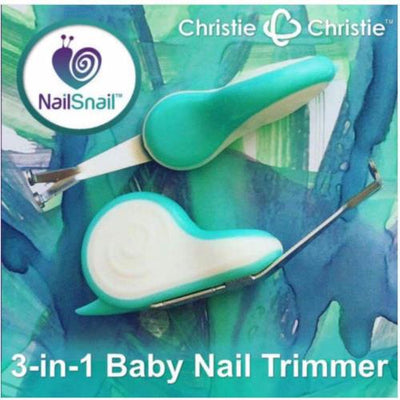 Nail Snail ™ 3-in-1 baby nail trimmer - Bellelis Australia