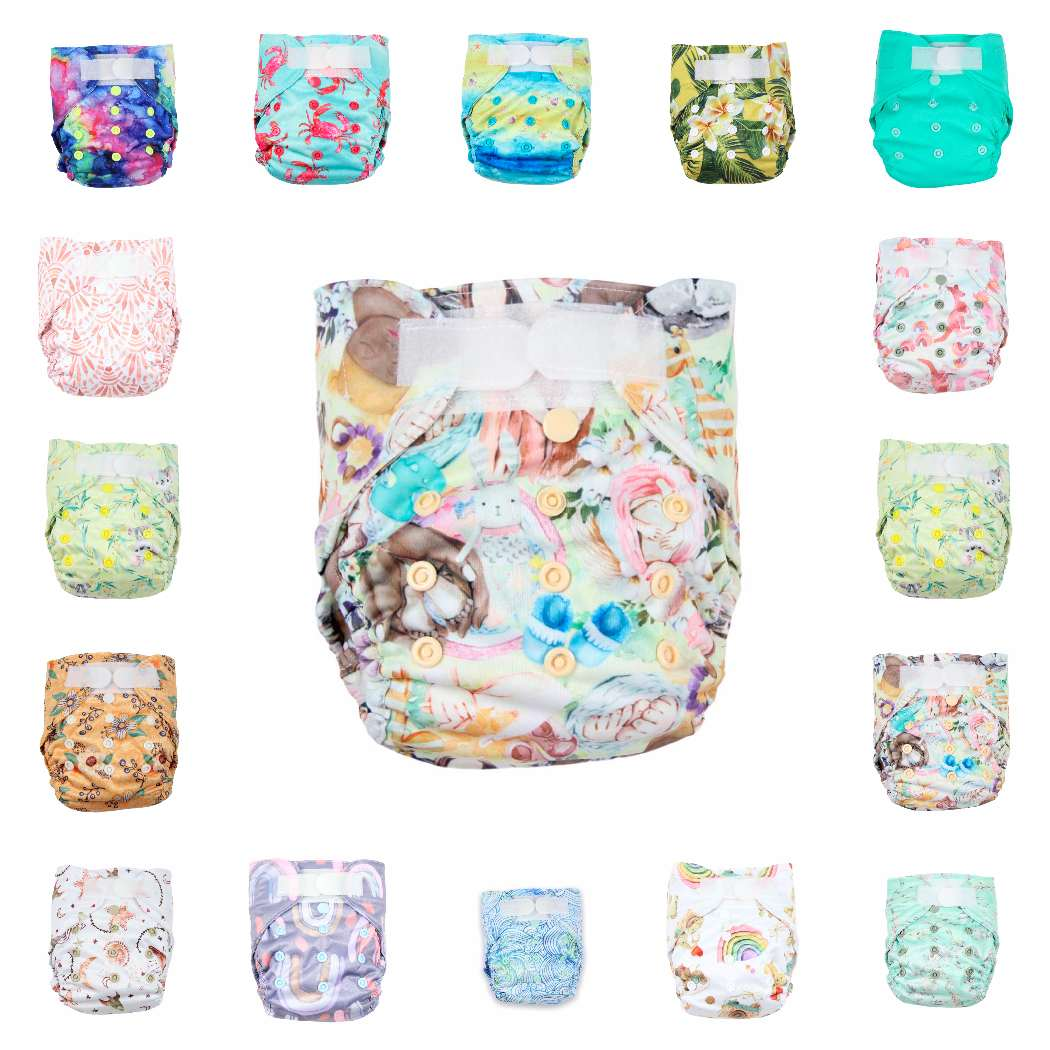 Newborn Nappy - Junior Tribe Co