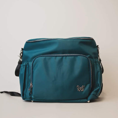 3 in 1 Convertible Nappy Backpack (Teal or Grey) Alcmena