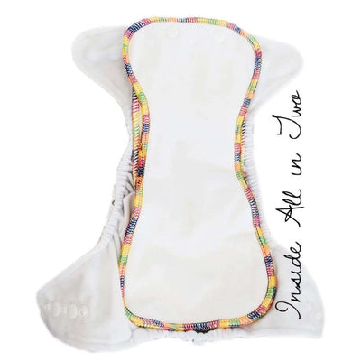 Bare Cub - All In 2 (AO2) cloth nappy