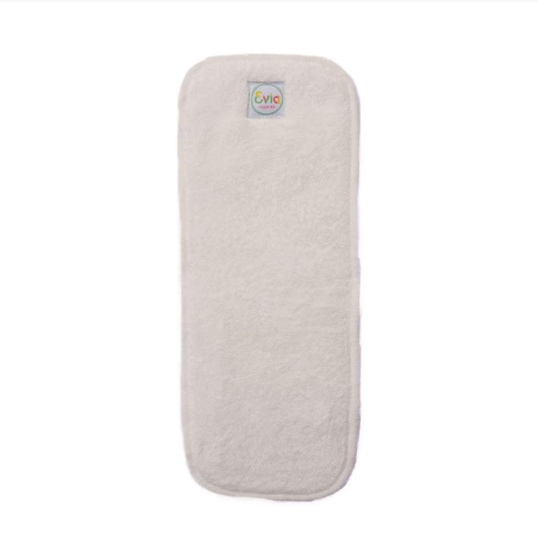 Reusable Bamboo Terry Nappy Insert - Evia