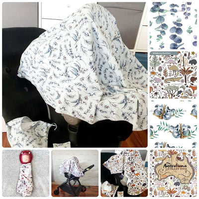 4-in-1 Blanket - Australiana Collection