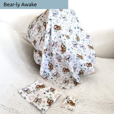 4 in 1 Blanket, Swaddle, Nursing and Pram Cover