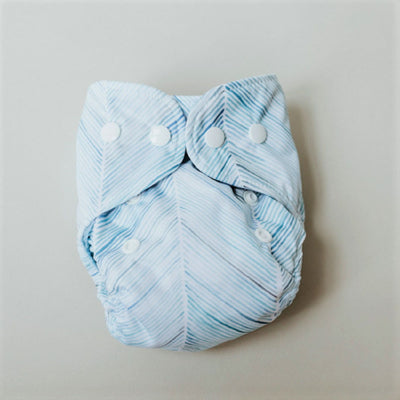Newborn nappies - Bare and Boho (shell + insert + booster)