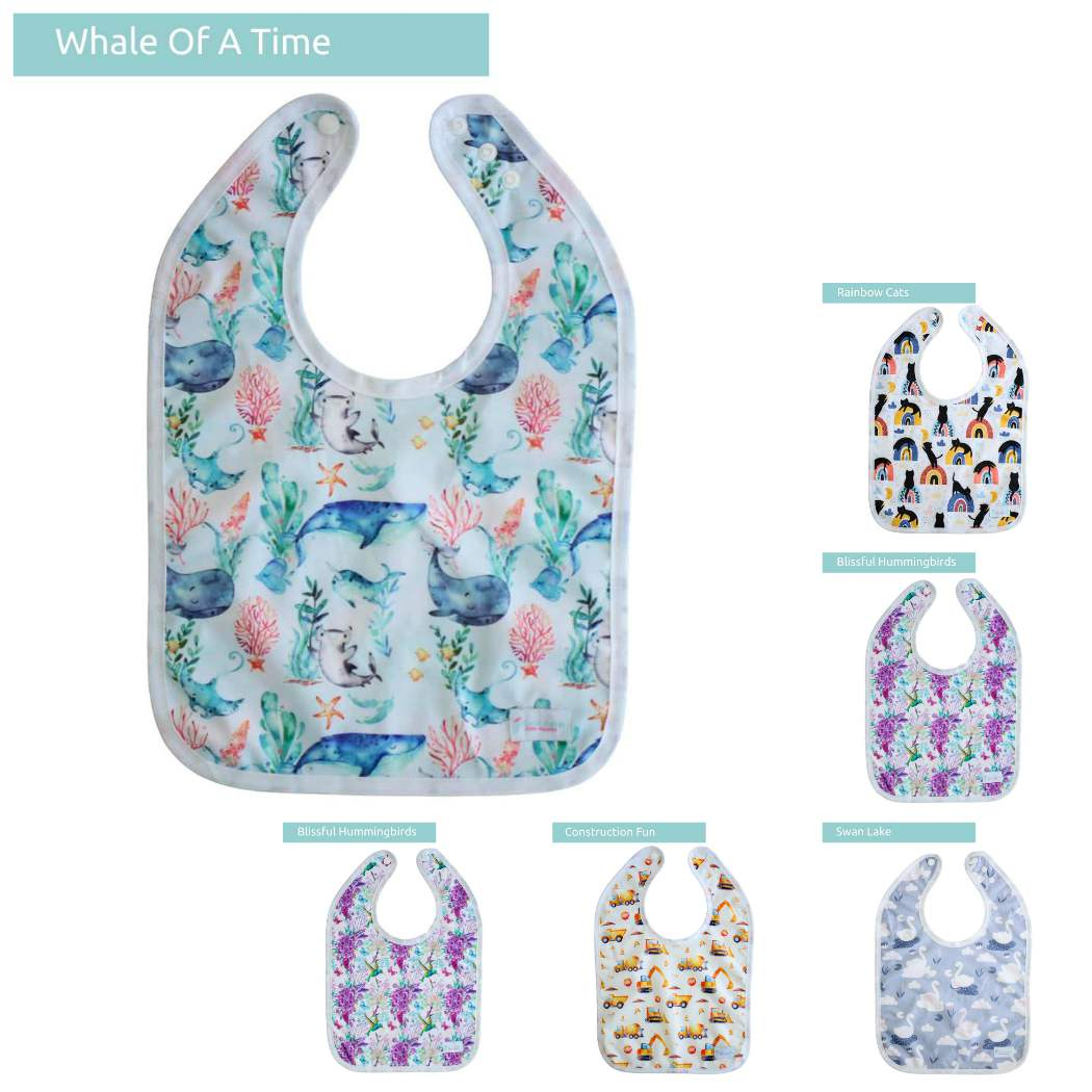 Wipeable Bib - Boho Babes