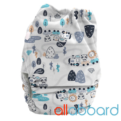 BoPeep All In Two Newborn Nappy Complete - Bubblebubs
