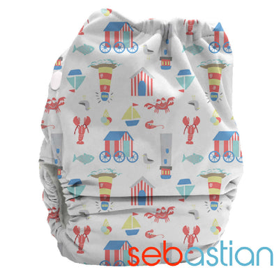 PUL Candie All in Two Complete Nappy - Bubblebubs