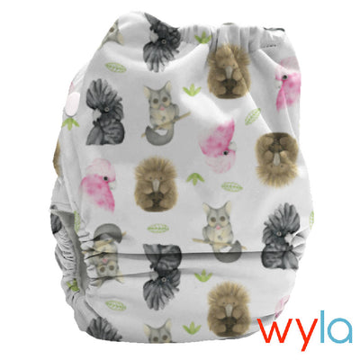 PUL Candie All in Two Complete Nappy - Bubblebubs - Bellelis Australia