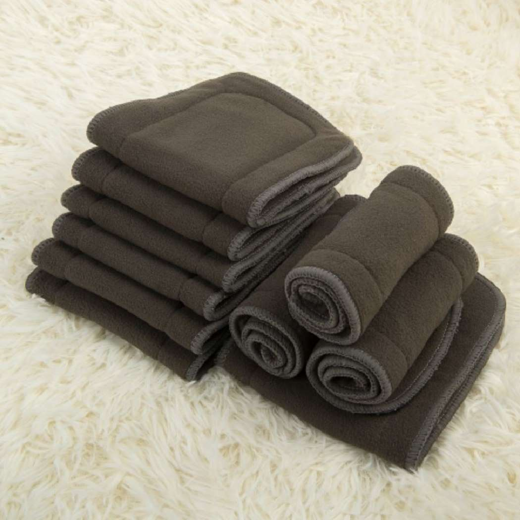 4-layer Bamboo Charcoal Inserts - Alva Baby