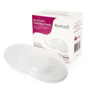 Breast Milk Collection Shells - Mumasil - Bellelis Australia