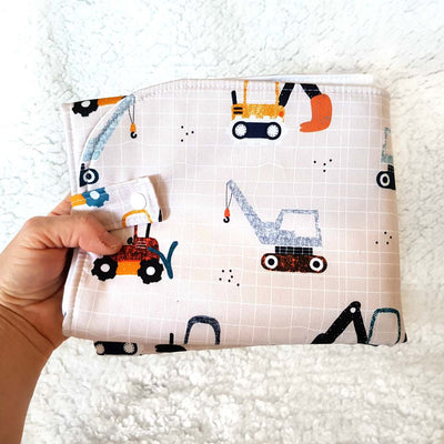 Unique stylish nappy change mat - Wipeable