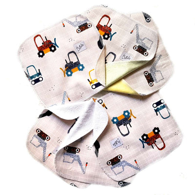 Pretty cloth wipes (set of 6)