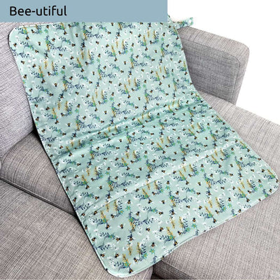Large unique nappy change mat - Wipeable