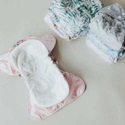 One-Size Nappy - Bare and Boho  (full set)