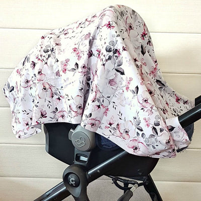 4 in 1 Blanket, Swaddle, Nursing and Pram Cover - Bellelis Australia