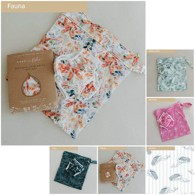 Swim Nappy & Large Wet Bag  - Bare and Boho