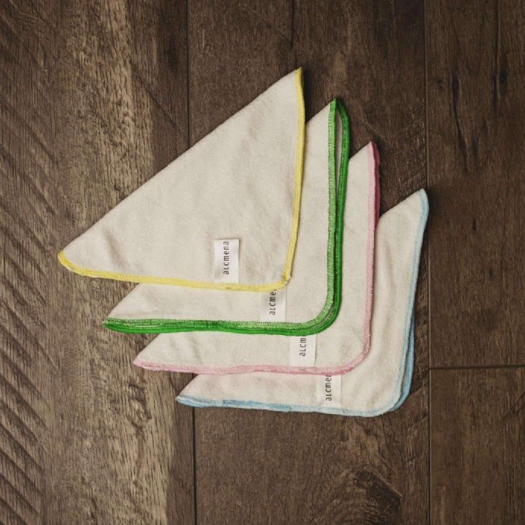 Bamboo cloth wipes (set of 4)