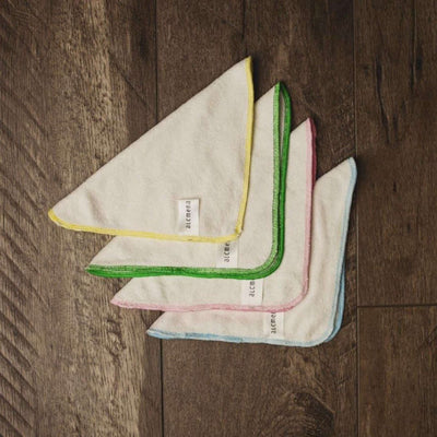 Bamboo cloth wipes - Alcmena (set of 4)