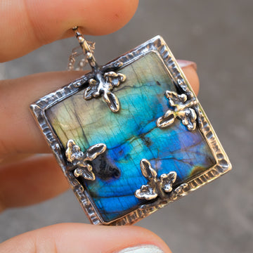 PRE-ORDER FOR ANA- CLARA Labradorite Necklace