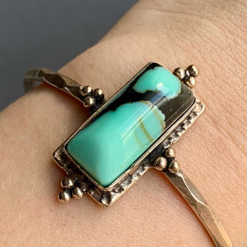 PRE-ORDER FOR GRACE- Desert Bloom Variscite Cuff