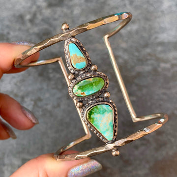 PRE-ORDER FOR ALLY- Royston Turquoise Cuff
