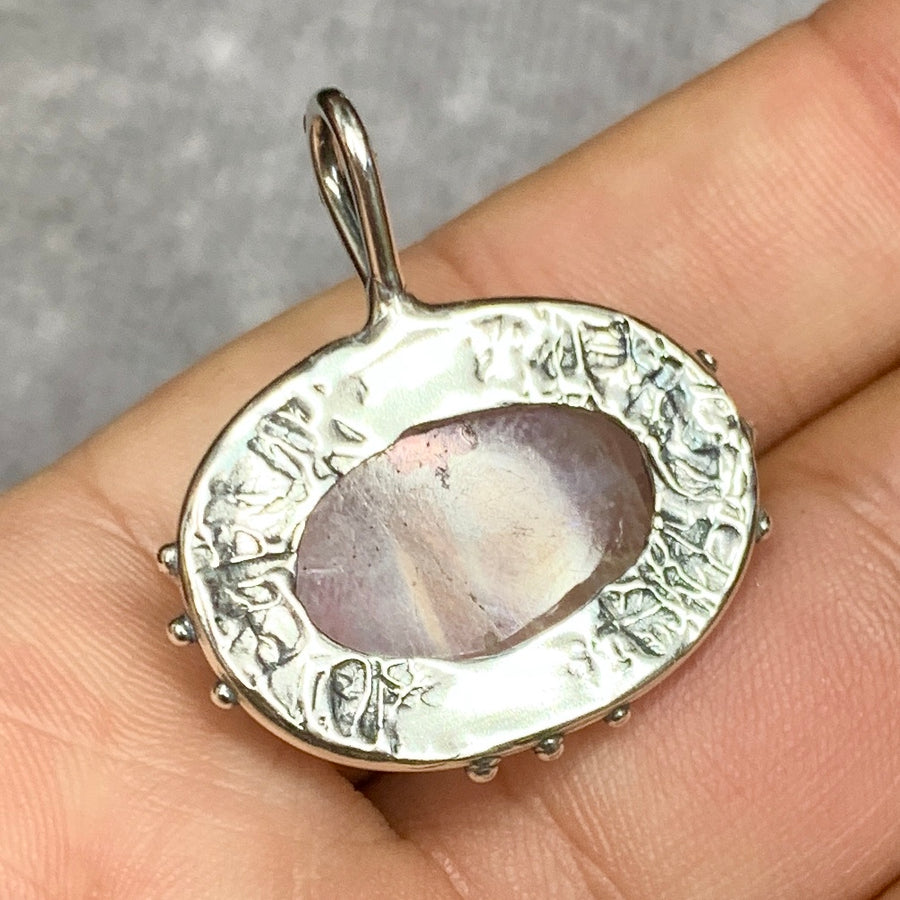 PRE-ORDER FOR Fran- Silver Moonstone Necklace