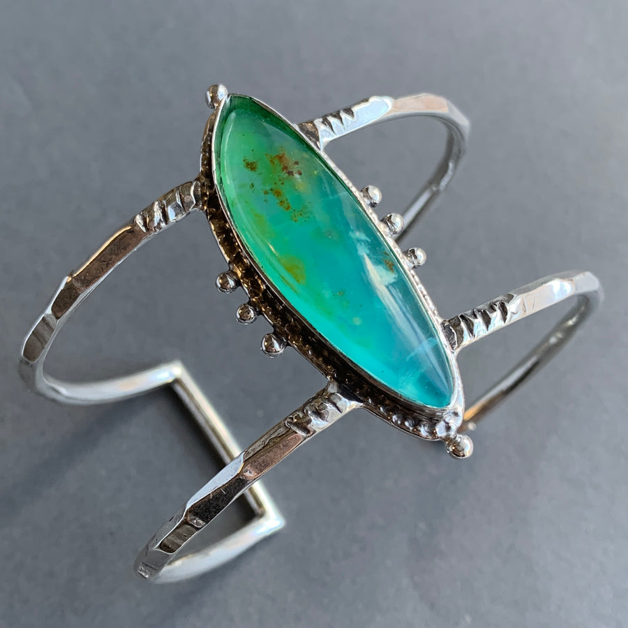 PRE-ORDER FOR SHARON- Peruvian Opal Cuff